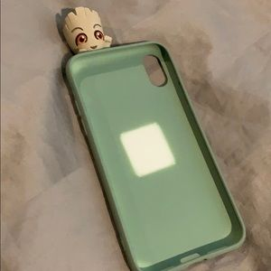 Groot iPhone XS cell phone case